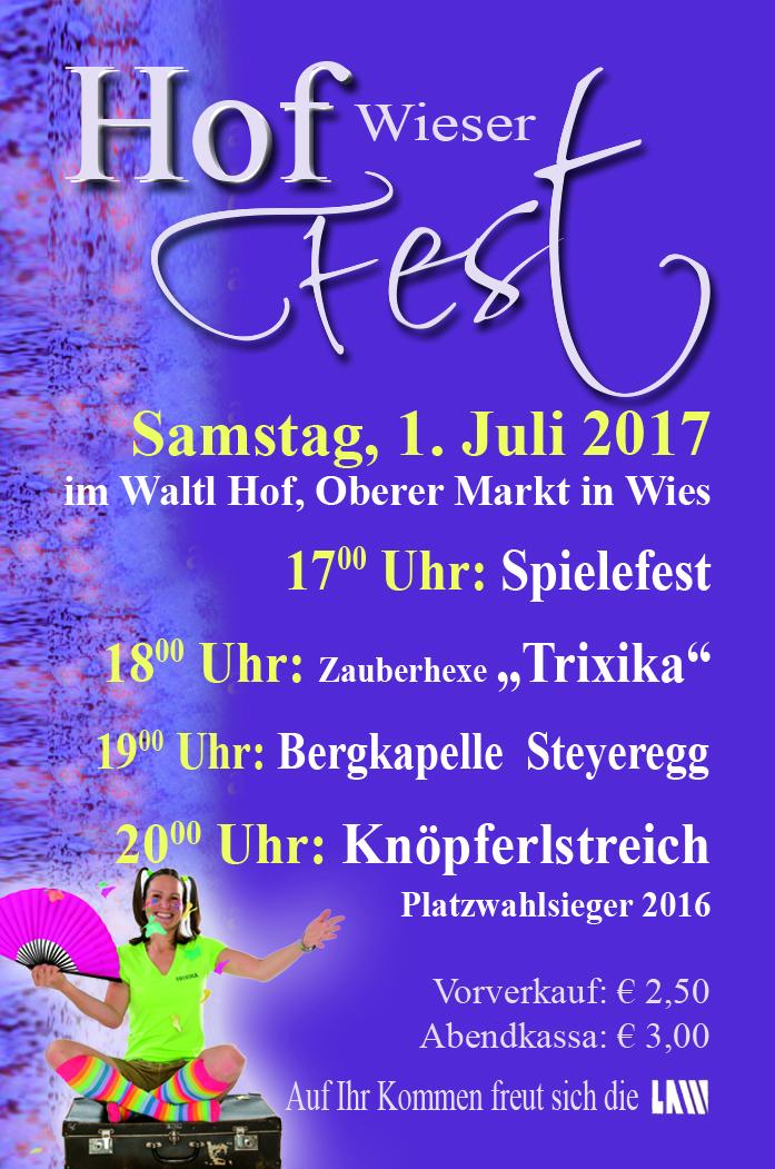 Wieser Hoffest